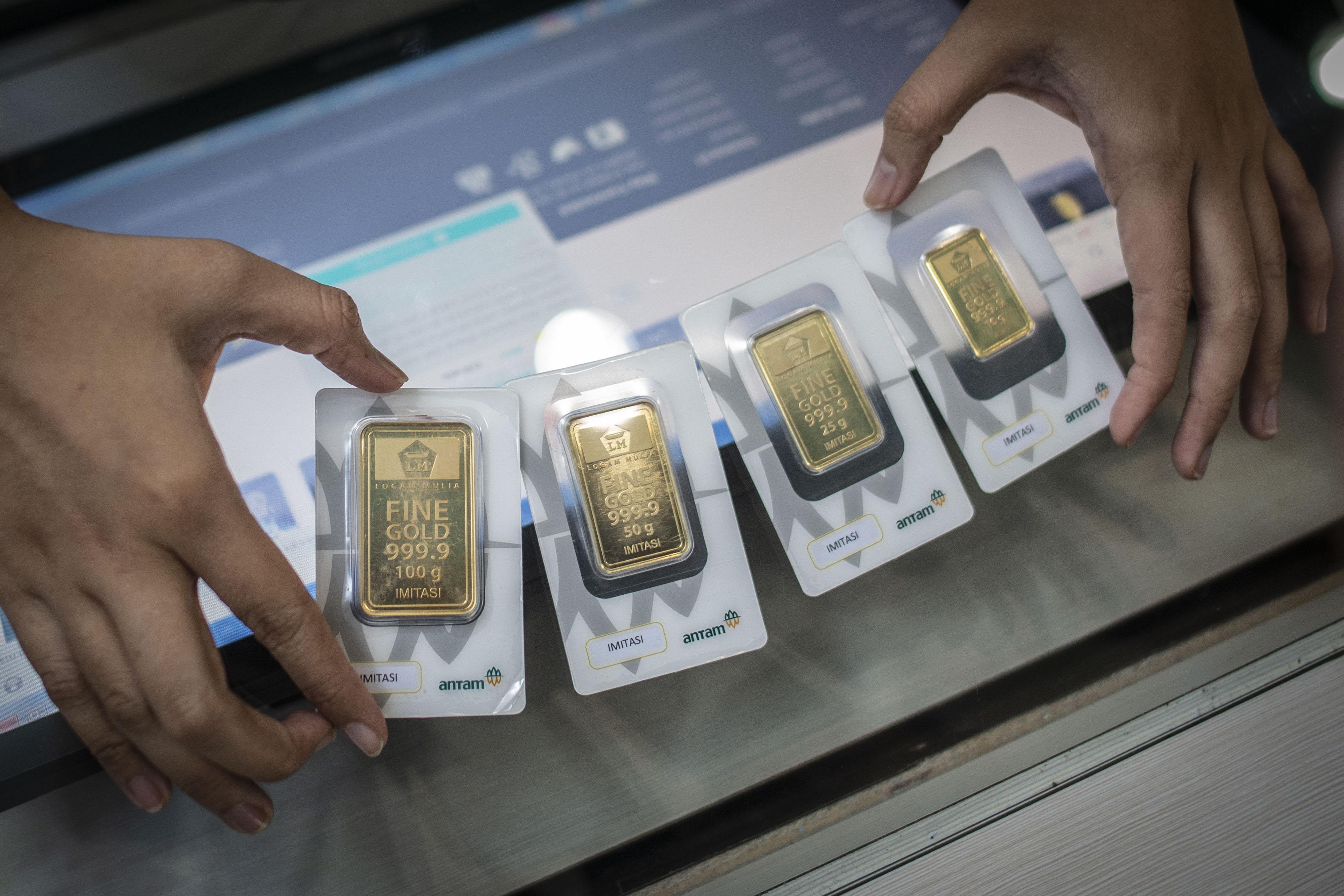 Harga Emas Antam Terus Capai Rekor Naik 21 Persen Dua Bulan